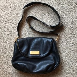 MARC BY MARC JACOBS mini leather messenger bag